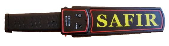 Detector de Metales Manual Safir