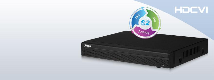 DVR HD-CVI 720p Híbridos – Con Detección de rostros – ONVIF